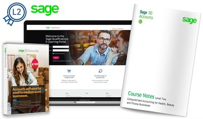 Sage Computerised Accounting for Health, Beauty and Fitness Businesses (Level 2)