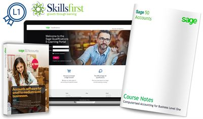 Skillsfirst Award in Computerised Accounting for Business (Level 1)