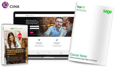 CIMA Accredited Sage Higher Certificate