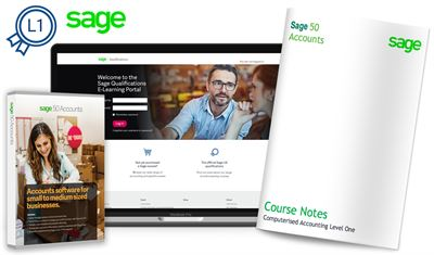 Sage 50c Course Computerised Accounting (Level 1)